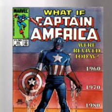 Comics: WHAT IF 44 CAPTAIN AMERICA WERE REVIVED TODAY? - MARVEL 1984 FN. Lote 204493880