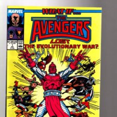 Comics: WHAT IF 1 THE AVENGERS LOST THE EVOLUTIONARY WAR ? - MARVEL 1989 VFN. Lote 204494085