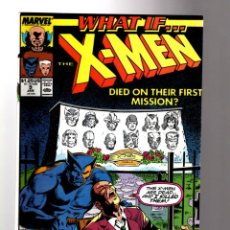 Comics: WHAT IF 9 THE X-MEN DIED ON THEIR FIRST MISSION ? - MARVEL 1990 VFN. Lote 204494926