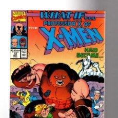 Cómics: WHAT IF 13 PROFESSOR X HAD BECOME THE JUGGERNAUT ? - MARVEL 1990 VFN/NM. Lote 204495332