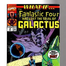 Comics: WHAT IF 14 FANTASTIC FOUR HAD LOST THE TRIAL OF GALACTUS ? - MARVEL 1990 VFN. Lote 204495555