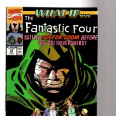 Comics: WHAT IF 18 FANTASTIC FOUR BATTLED DOCTOR DOOM BEFORE THEY GOT POWERS ? - MARVEL 1990 VFN+. Lote 204496132