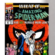 Cómics: WHAT IF 20 THE AMAZING SPIDER-MAN HAD NOT MARRIED MARY JANE ? - MARVEL 1990 VFN/NM. Lote 204496473