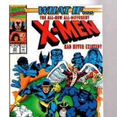 Cómics: WHAT IF 23 THE NEW X-MEN HAD NEVER EXISTED ? - MARVEL 1991 VFN/NM / BUSIEK & RAMOS. Lote 204497013