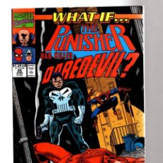 Cómics: WHAT IF 26 THE PUNISHER HAD KILLED DAREDEVIL ? - MARVEL 1991 VFN / SPIDER-MAN. Lote 204497362