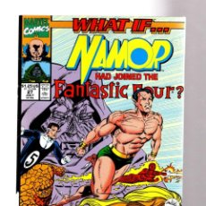 Cómics: WHAT IF 27 NAMOR HAD JOINED THE FANTASTIC FOUR ? - MARVEL 1991 VFN+. Lote 204497512