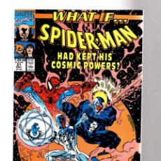 Comics: WHAT IF 31 THE AMAZING SPIDER-MAN HAD KEPT HIS COSMIC POWERS ? - MARVEL 1991 VFN- / VENOM. Lote 204498081