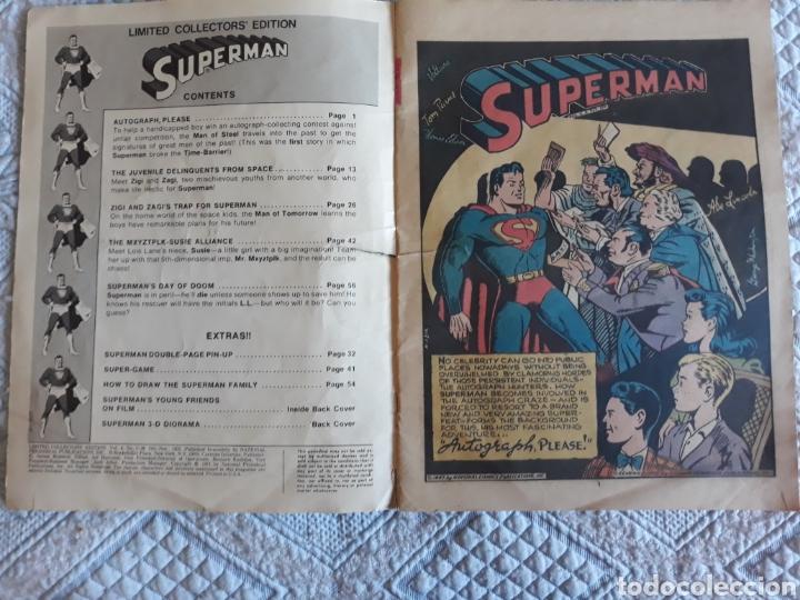 Cómics: SUPERMAN. LIMITED COLLECTORS EDITION. - Foto 2 - 204507302