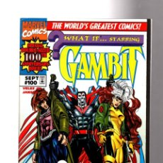 Cómics: WHAT IF 100 GAMBIT & ROGUE THE GREATEST SECRET OF THE MARVEL UNIVERSE REVEALED - MARVEL 1997 VFN/NM. Lote 204636872