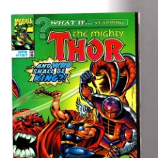 Cómics: WHAT IF 107 THOR AND WHO SHALL BE THE KING - MARVEL 1998 VFN/NM / BILL SIENKIEWICZ. Lote 204637690