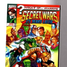 Cómics: WHAT IF 114 SECRET WARS THE NEW GENERATION - MARVEL 1998 VFN/NM FINAL ISSUE. Lote 204638550