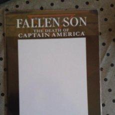 Cómics: FALLEN SON DEATH OF CAPTAIN AMERICA BLANK VARIANT. Lote 204681438