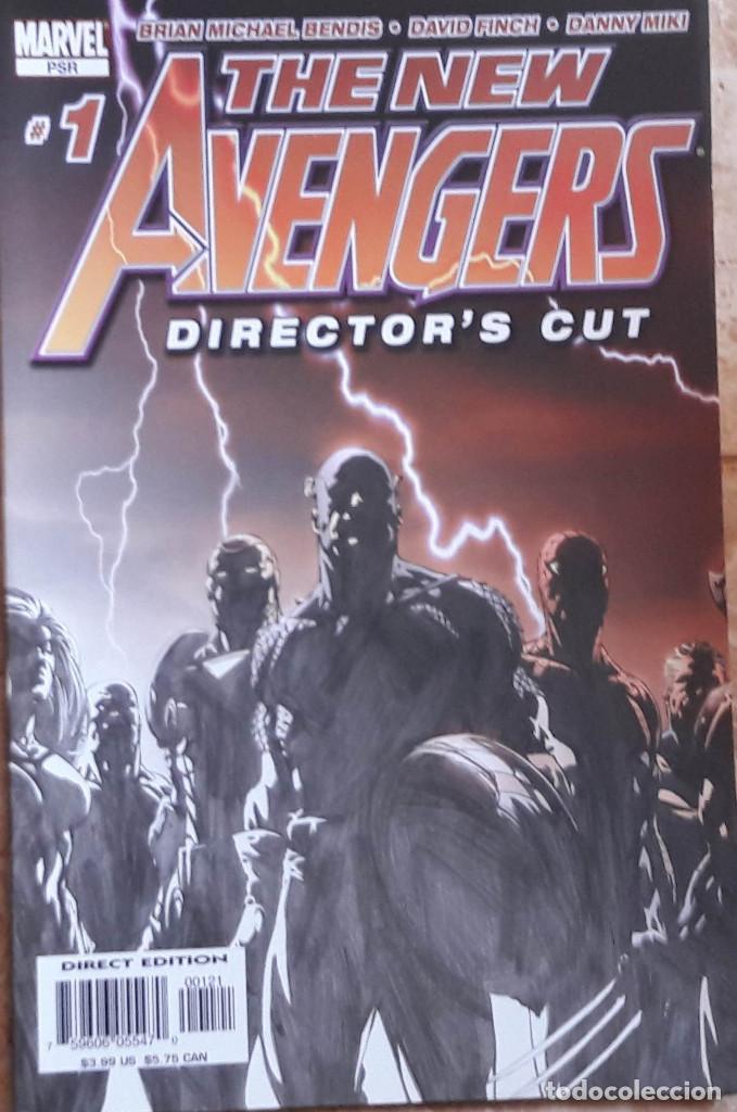 THE NEW AVENGERS Nº 1 - DIRECTOR'S CUT - COMIC ORIGINAL USA LOS VENGADORES (Tebeos y Comics - Comics Lengua Extranjera - Comics USA)