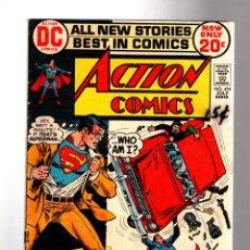 Cómics: ACTION COMICS 414 SUPERMAN - DC 1972 VG / METAMORPHO. Lote 205363198