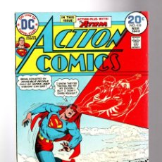 Cómics: ACTION COMICS 433 SUPERMAN - DC 1974 FN/VFN / ATOM. Lote 205364441