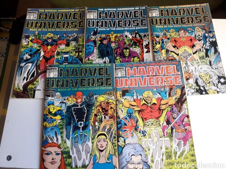 BOOK OF DEATH DELUXE EDITION. HANDBOOK MARVEL 86. 5 NUM. ¡COMPLETA! (Tebeos y Comics - Comics Lengua Extranjera - Comics USA)