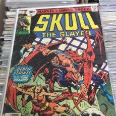 Cómics: MARVEL COMICS GROUP - SKULL THE SLAYER NUMERO 7 NORMAL ESTADO. Lote 205541328