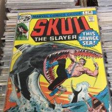 Cómics: MARVEL COMICS GROUP - SKULL THE SLAYER NUMERO 6 NORMAL ESTADO. Lote 205541376