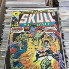 Cómics: MARVEL COMICS GROUP - SKULL THE SLAYER NUMERO 6 NORMAL ESTADO. Lote 205541451