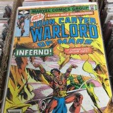 Cómics: MARVEL COMICS GROUP - JOHN CARTER WARLORD OF MARTE NUMERO 25 NORMAL ESTADO. Lote 205541753