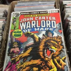 Cómics: MARVEL COMICS GROUP - JOHN CARTER WARLORD OF MARTE NUMERO 21 NORMAL ESTADO. Lote 205541827