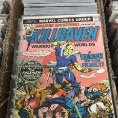 Cómics: MARVEL COMICS GROUP - AMAZING ADVENTURES - KILLRAVEN WARRIOR OF THE WORLDS NUMERO 34 NORMAL ESTADO. Lote 205542317