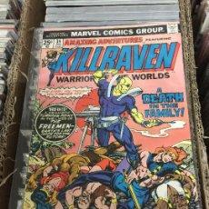 Cómics: MARVEL COMICS GROUP - KILLRAVEN - WARRIOR OF THE WORLDS NUMERO 34 NORMAL ESTADO. Lote 205542333