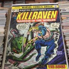 Cómics: MARVEL COMICS GROUP - KILLRAVEN - WARRIOR OF THE WORLDS NUMERO 33 NORMAL ESTADO. Lote 205542455