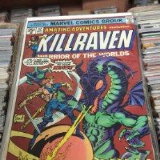 Cómics: MARVEL COMICS GROUP - KILLRAVEN - WARRIOR OF THE WORLDS NUMERO 32 NORMAL ESTADO. Lote 205542475