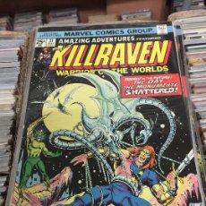 Cómics: MARVEL COMICS GROUP - KILLRAVEN - WARRIOR OF THE WORLDS NUMERO 31 NORMAL ESTADO. Lote 205542491