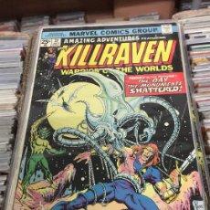 Cómics: MARVEL COMICS GROUP - KILLRAVEN - WARRIOR OF THE WORLDS NUMERO 31 NORMAL ESTADO. Lote 205542513