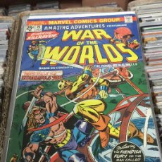 Cómics: MARVEL COMICS GROUP - WAR OF THE WORLDS NUMERO 25 NORMAL ESTADO. Lote 205542661