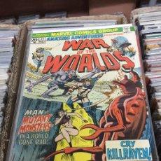 Cómics: MARVEL COMICS GROUP - WAR OF THE WORLDS NUMERO 21 NORMAL ESTADO. Lote 205542723
