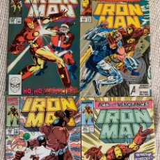 Cómics: IRON MAN VOL. I - LOTE DE 4 EJEMPLARES Nº 251,254,257,292, ( EDICION EN INGLES ). Lote 205561008