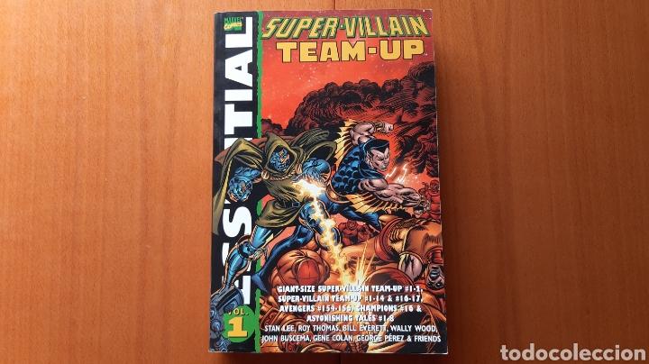 MARVEL ESSENTIAL. SUPER VILLAIN TEAM-UP (Tebeos y Comics - Comics Lengua Extranjera - Comics USA)