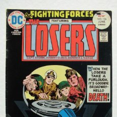 Cómics: OUR FIGHTING FORCES THE LOSERS Nº 156 DC COMICS JACK KIRBY 1975. Lote 205684687