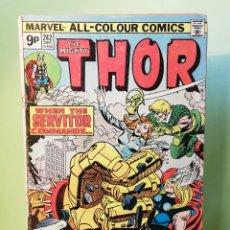 Comics : THOR 242 JOHN BUSCEMA MARVEL COMICS USA 1975 (LEER Y VER FOTOS). Lote 206197173