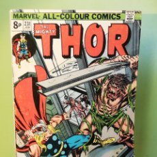 Comics : THOR 231 JOHN BUSCEMA MARVEL COMICS USA 1975. Lote 206209708