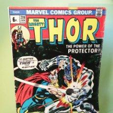 Comics : THOR 219 JONH BUSCEMA MARVEL COMICS USA 1974. Lote 206212642