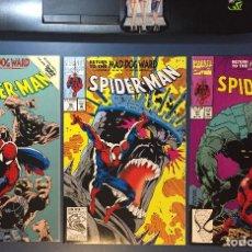 Cómics: SPIDERMAN (1992) MAD DOG WARD ANN NOCENTI - #29, 30 & 31 - (NM- 9.2). Lote 206391960