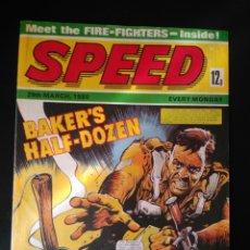 Cómics: REVISTA COMICS SPEED EN LENGUA INGLESA DEL 29 DE MARZO DE 1980. Lote 206419683