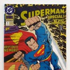 Cómics: SUPERMAN SPECIAL 1 - DC 1992 VFN - WALT SIMONSON - 64 PAGINAS - PERFECTO ESTADO. Lote 206474637
