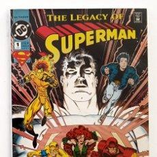 Cómics: SUPERMAN N° 1 (DC COMICS, 1993). THE LEGACY OF SUPERMAN. COMIC USA. COMO NUEVO.. Lote 206475143