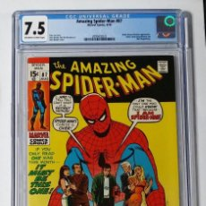 Cómics: OFERTA COMIC USA SPIDERMAN AMAZING SPIDER-MAN 87 CGC 7.5 MARVEL 1970 STAN LEE ROMITA. Lote 206496855