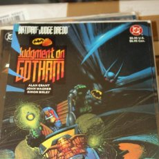 Cómics: BATMAN JUDGE DREDD JUDGEMENT ON GOTHAM DC. Lote 206502807