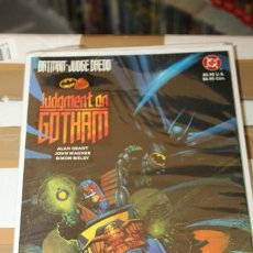 Cómics: BATMAN JUDGE DREDD JUDGEMENT ON GOTHAM DC. Lote 206502821