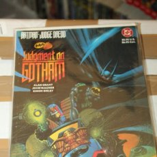 Cómics: BATMAN JUDGE DREDD JUDGEMENT ON GOTHAM DC. Lote 206502826