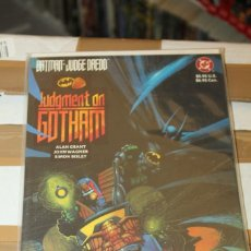 Cómics: BATMAN JUDGE DREDD JUDGEMENT ON GOTHAM DC. Lote 206502835