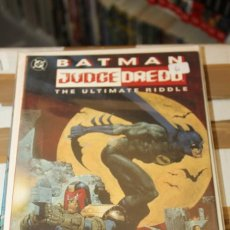 Cómics: BATMAN JUDGE DREDD THE ULTIMATE RIDDLE DC USA. Lote 206503251