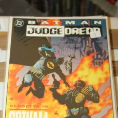 Cómics: BATMAN JUDGE DREDD VENDETTA IN GOTHAM DC USA. Lote 206503278